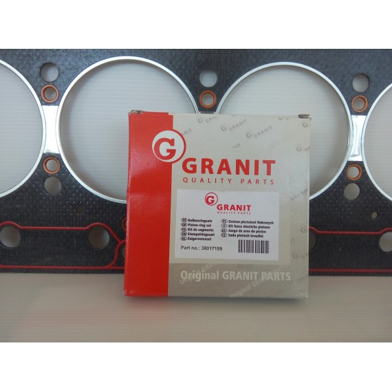 Set segmenti 100 Granit Germany
